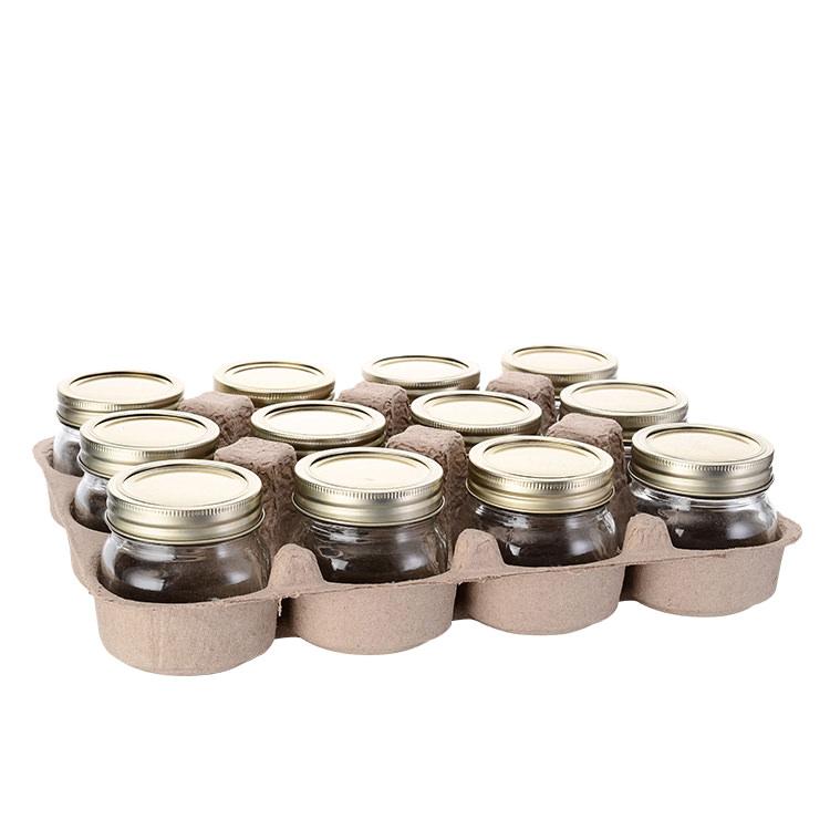 Old Fashioned Mason Jar w/ 2pc Lid 250ml Set of 12