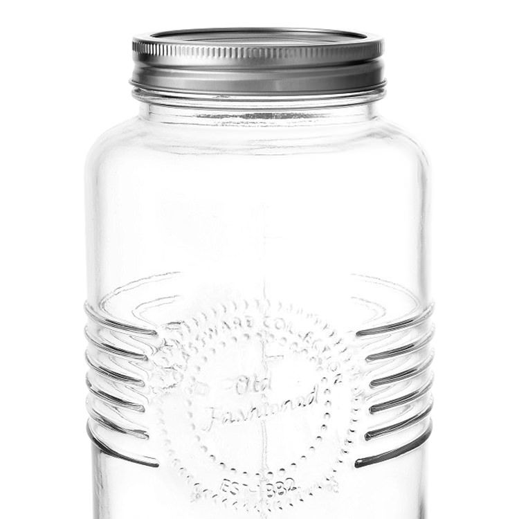 Salisbury & Co Old Fashioned Mason Jar w/ 2pc Lid 2L image #2
