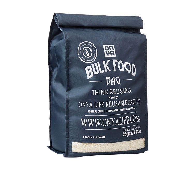 Onya Reusable Bulk Food Starter Set Charcoal