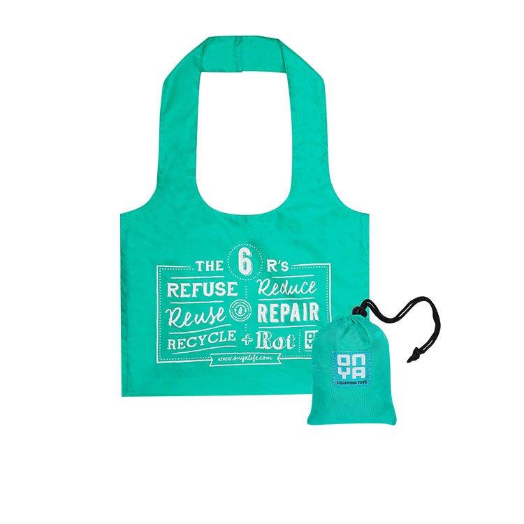 Onya Reusable Bulk Food Shopping Tote Aqua