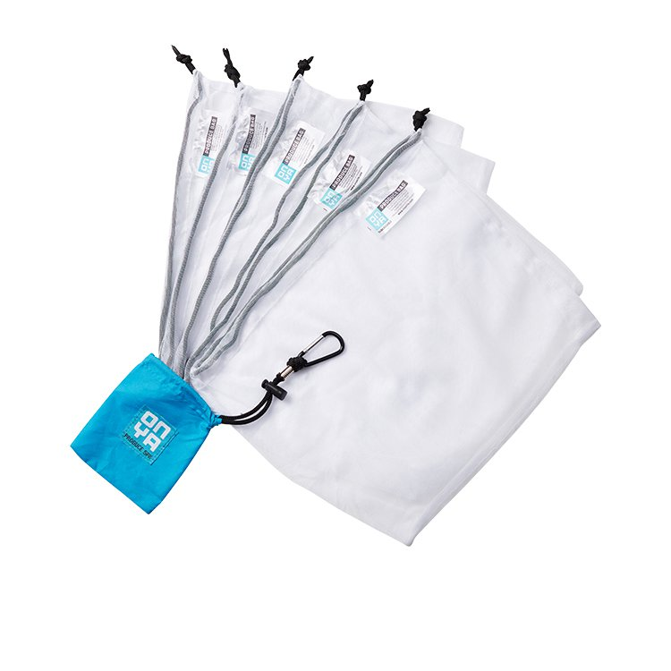 Onya Reusable Weigh Produce Bags 5pk Turquoise