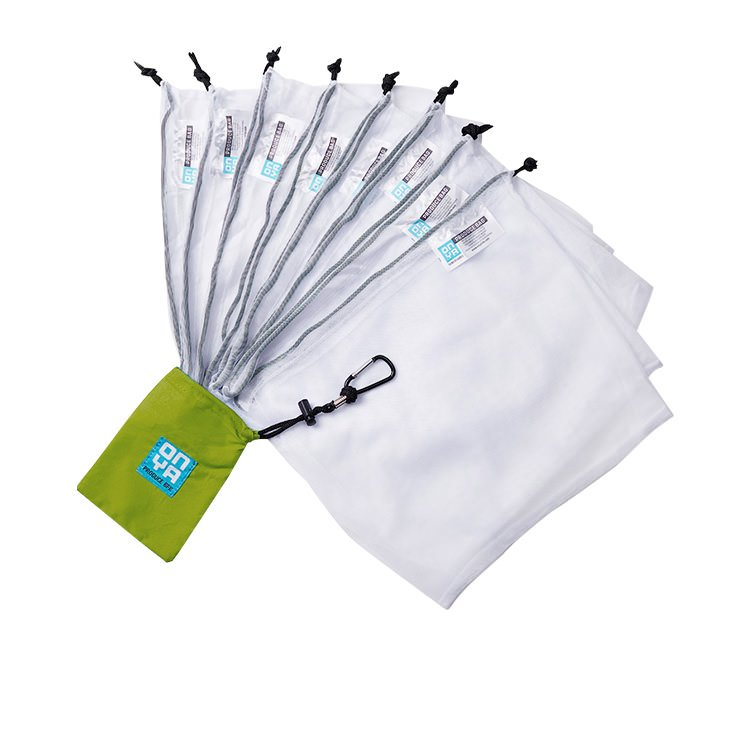 Onya Reusable Weigh Produce Bags 8pk Apple