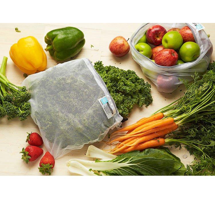 Onya Reusable Weigh Produce Bags 8pk Chilli