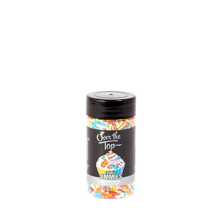Over The Top Jimmies Sprinkles Rainbow 82g