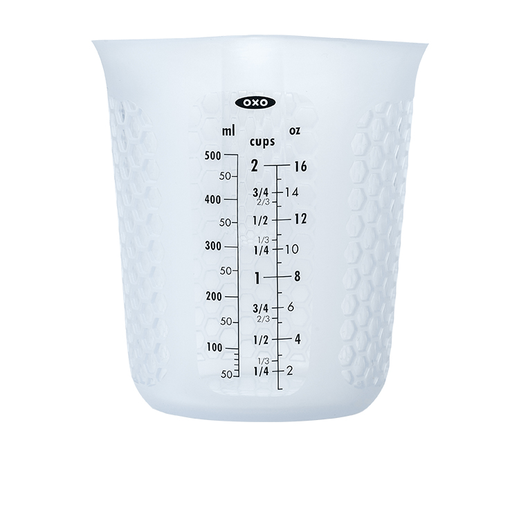 OXO Good Grips Squeeze & Pour Silicone Measuring Jug 500ml