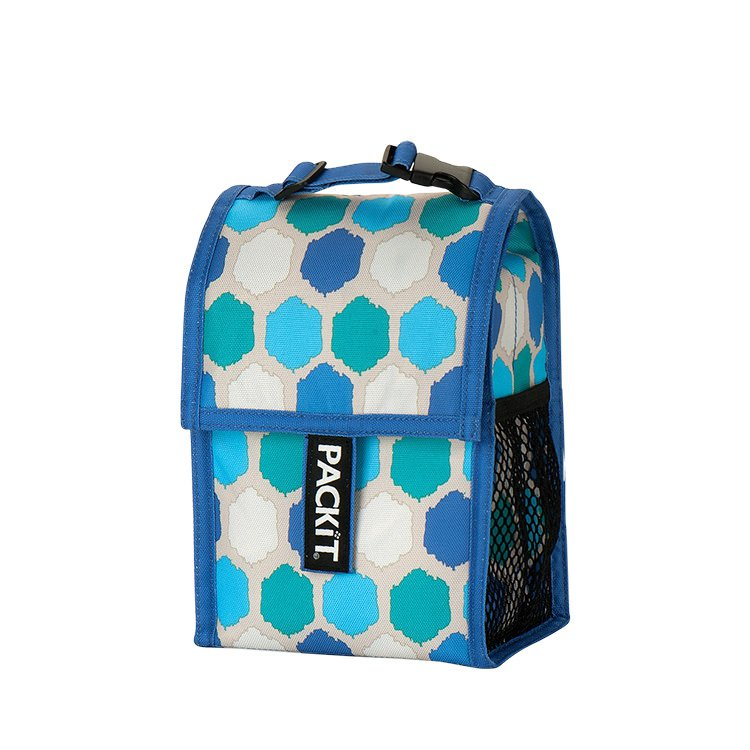 Packit Baby Bottle Cooler Blue Dots