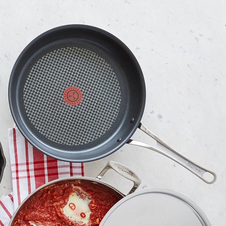 Jamie Oliver Premium Hard Anodised Induction Frypan 26cm