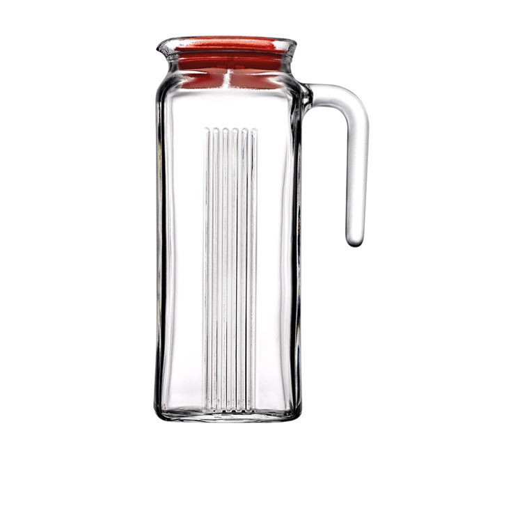 Pasabahce Frigo Glass Jug with Lid 1L