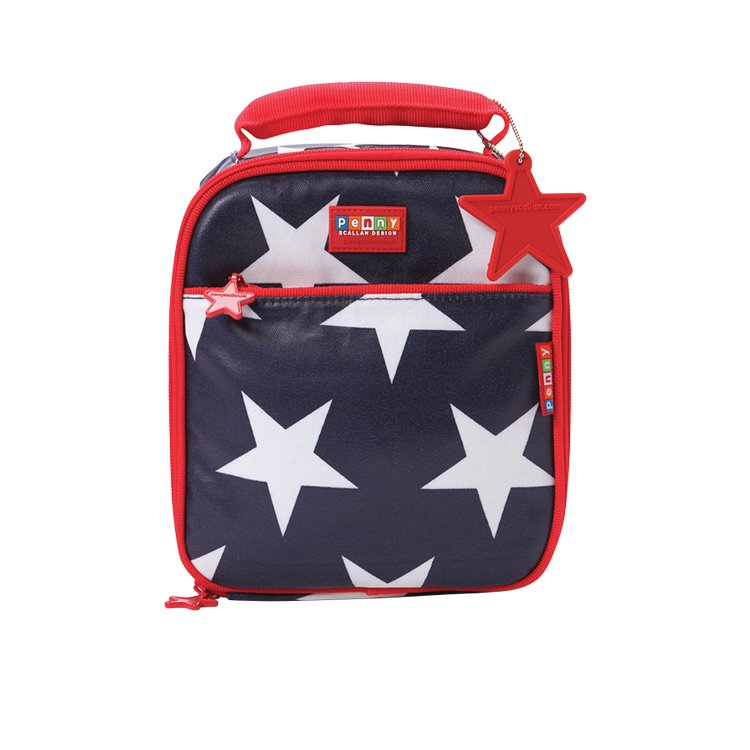 Penny Scallan School Lunchbox Navy Star