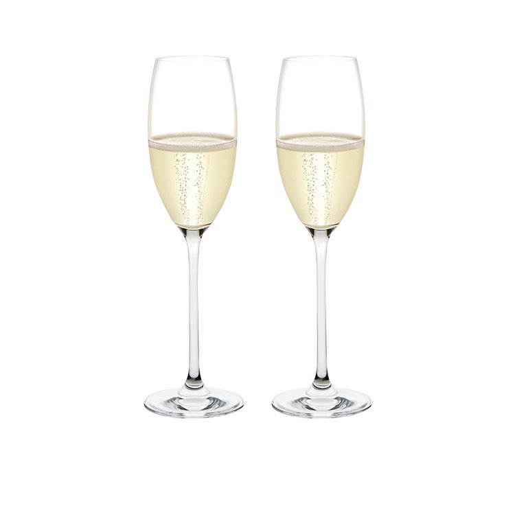 Plumm Vintage SPARKLING Wine Glass 255ml Set of 2