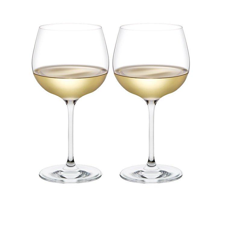 Plumm Vintage WHITEb Wine Glass 568ml Set of 2