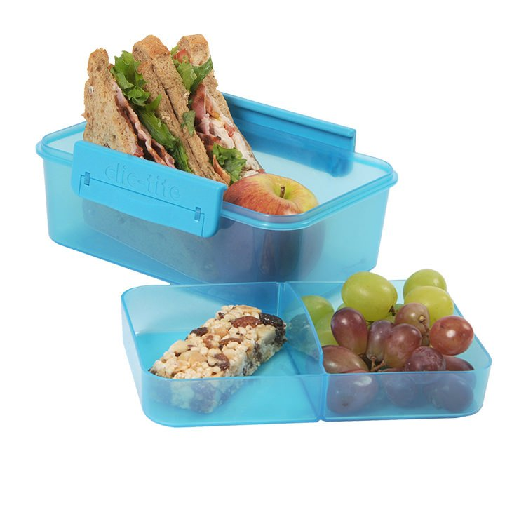 Polar Gear Double Decker Sandwich Container Turquoise