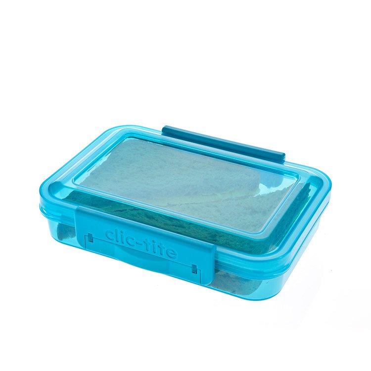 Polar Gear Slim Sandwich Container Turquoise