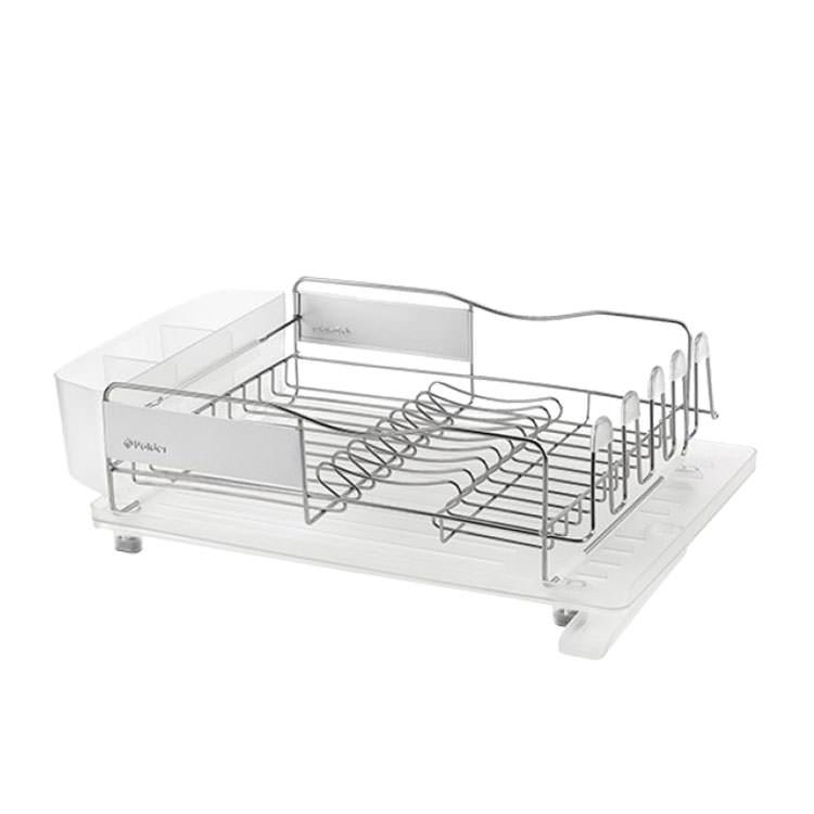 Polder Advantage Pro Dish Rack Clear