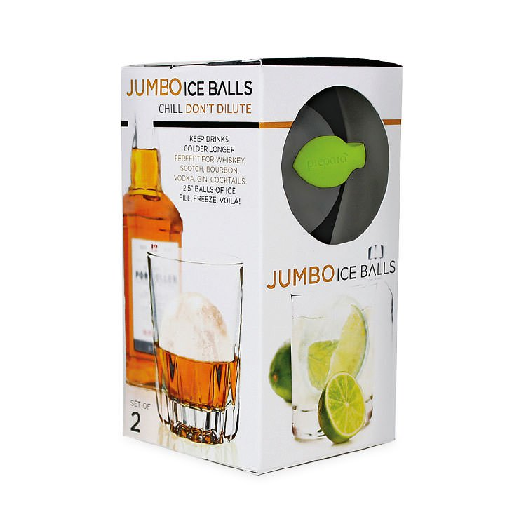 Prepara Jumbo Ice Ball 2pc Set