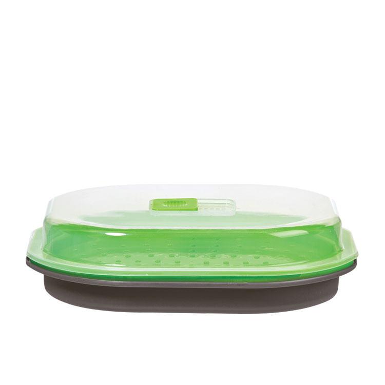 Progressive Prep Solutions Microwave Fish and Veggie Steamer