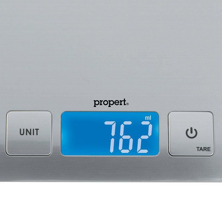 Propert Arc Kitchen Scale Stainless Steel 5kg