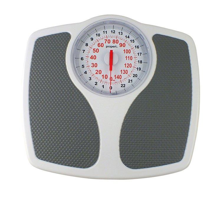 Propert Speedometer Mechanical Bathroom Scale