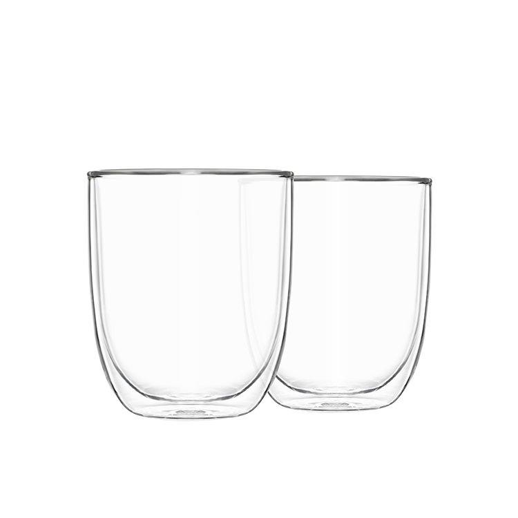 Pyrex 2pc Double Wall Glass Set 250ml