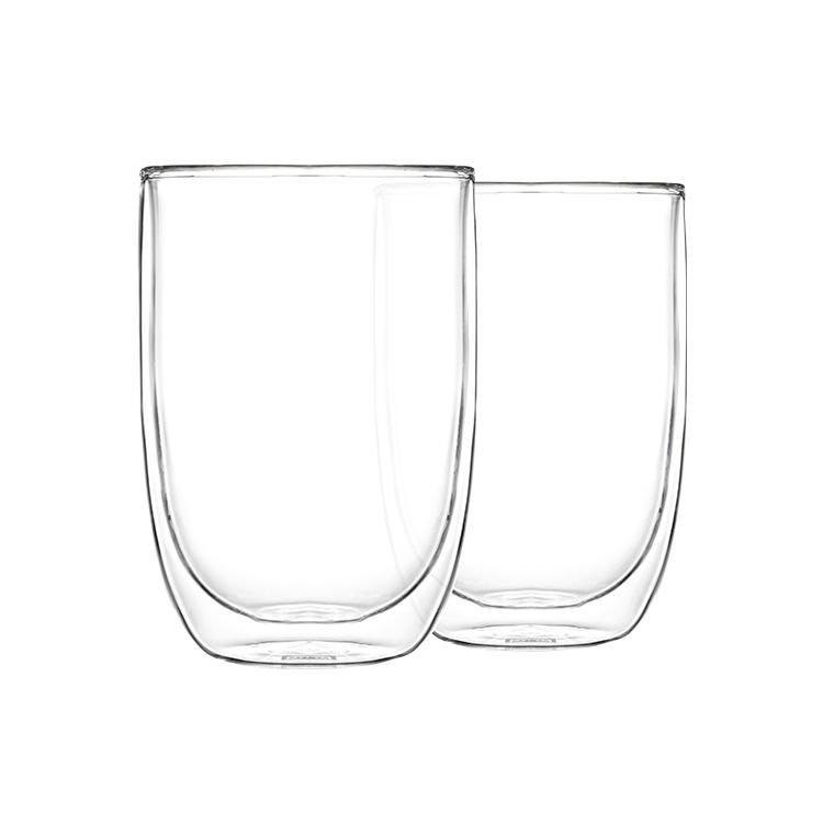 Pyrex 2pc Double Wall Glass Set 400ml