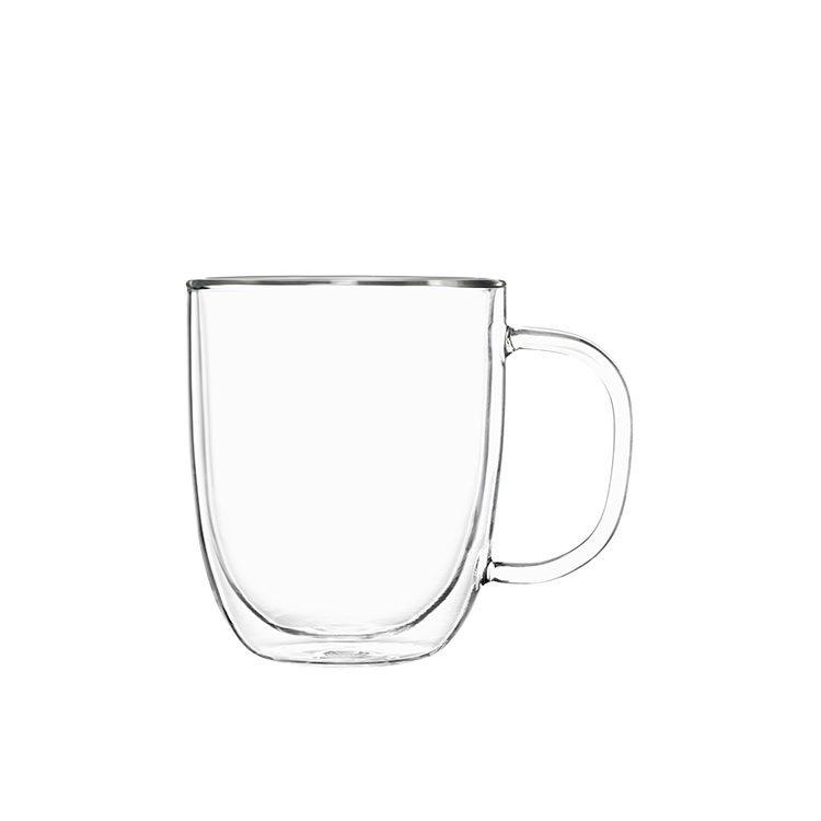 Pyrex 2pc Double Wall Mug Set 250ml (2 Sets)