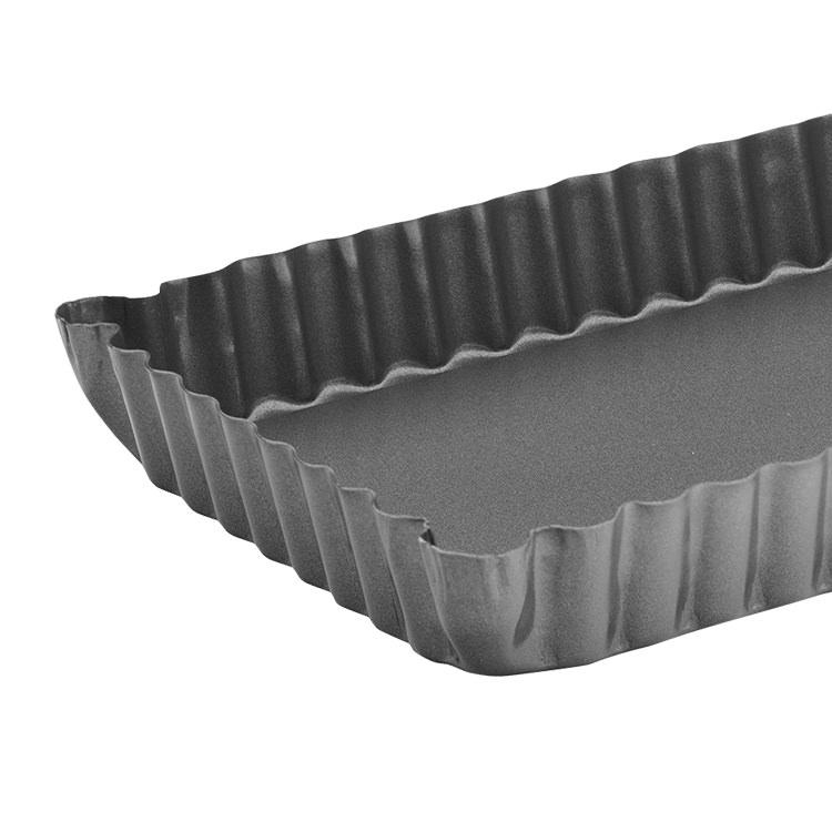 Pyrex Platinum Loose Base Rectangular Quiche Pan 35x12cm image #2