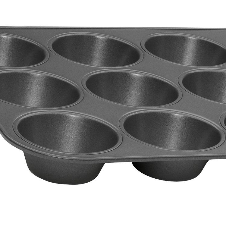 Pyrex Platinum Muffin Pan 12 Cup 35x27cm