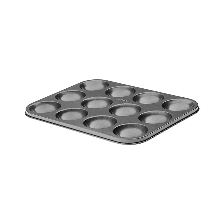 Pyrex Platinum Patty Cake Pan 12 Cup 28x26cm