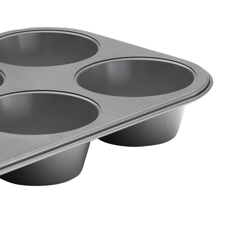 Pyrex Platinum Texas Muffin Pan 6 Cup 32x22cm