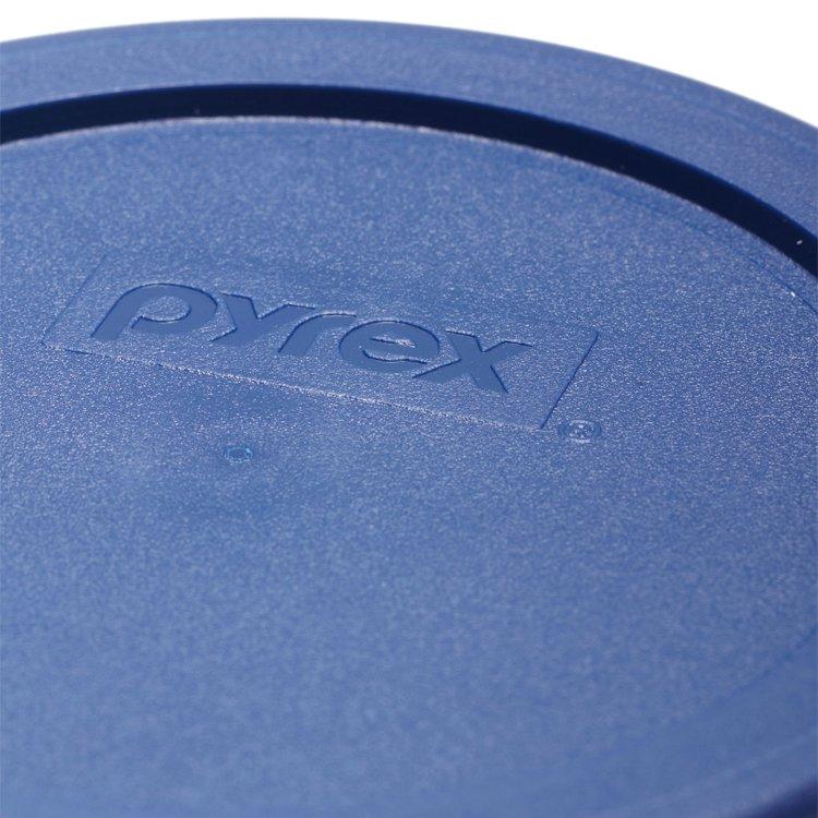 Pyrex Round Glass Storage 473ml Blue