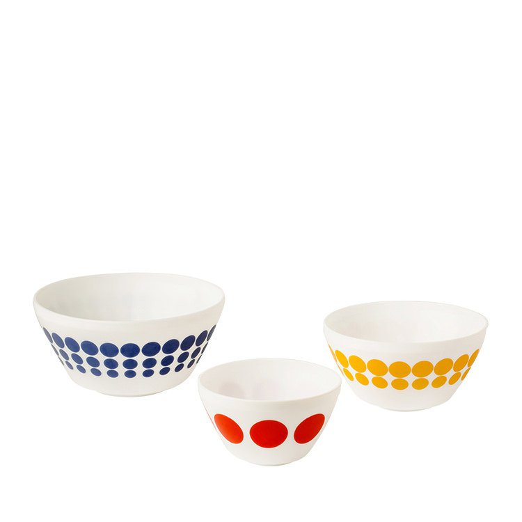 Pyrex Vintage Charm Spot On Mixing Bowl Set 3pc
