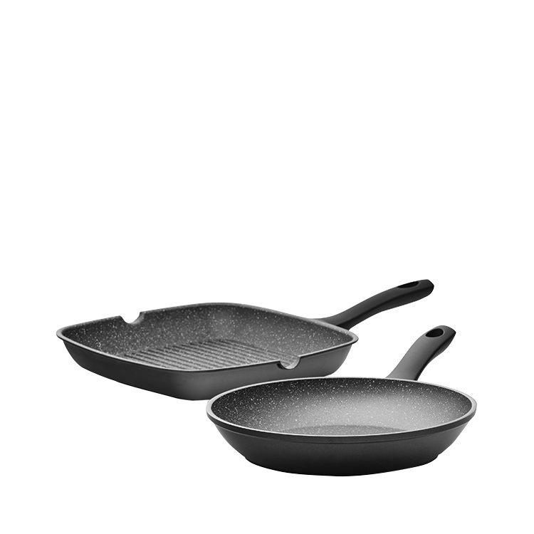 Pyrolux Pyrostone 2pc Cookware Set