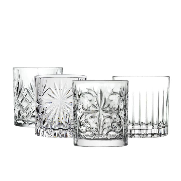 RCR Mixology Bicchieri 4pc Glass Tumbler Set 300ml