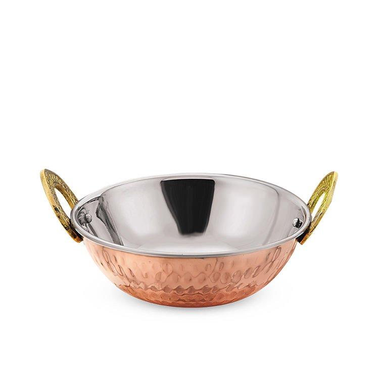 Ramco Balti Dish 17cm Heavy Copper