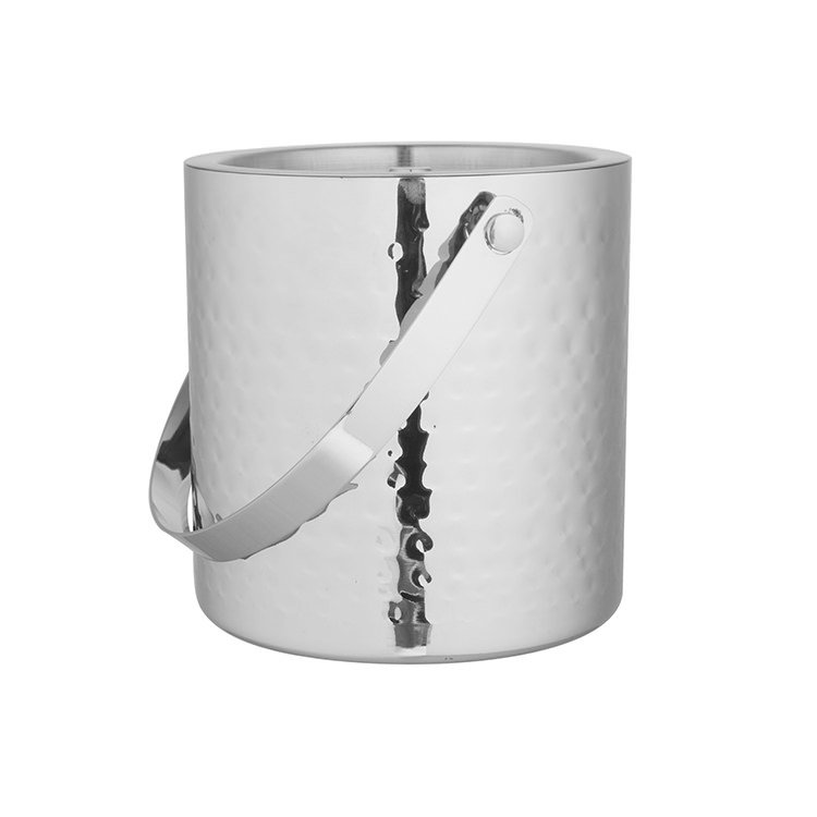 Ramco Hammered Double Wall Ice Bucket 15cm