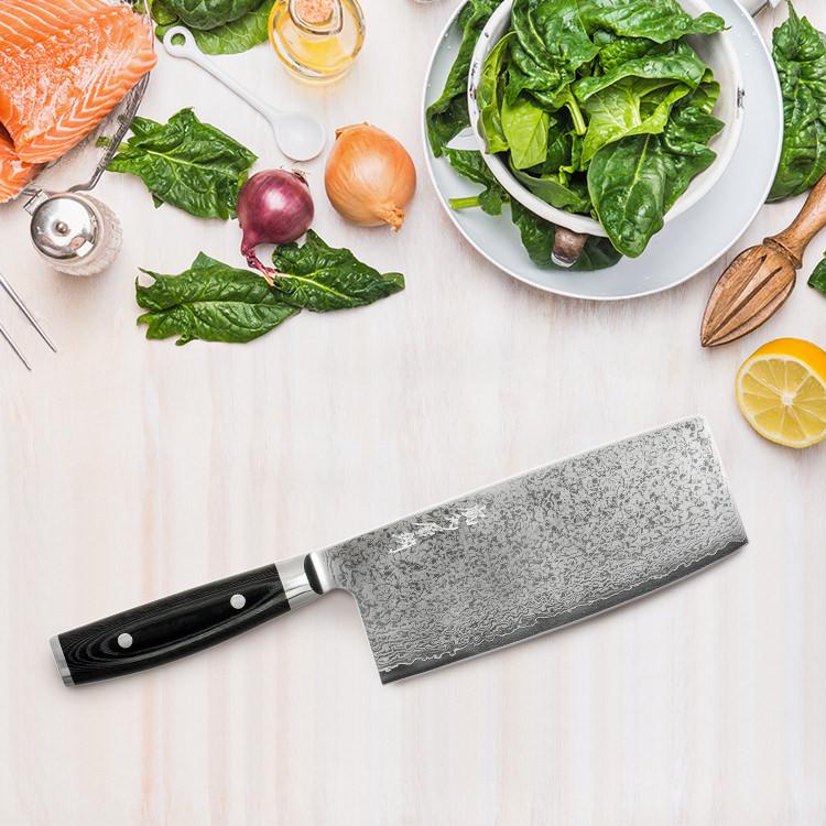 Yaxell Ran Plus Oriental Chef's Knife 18cm