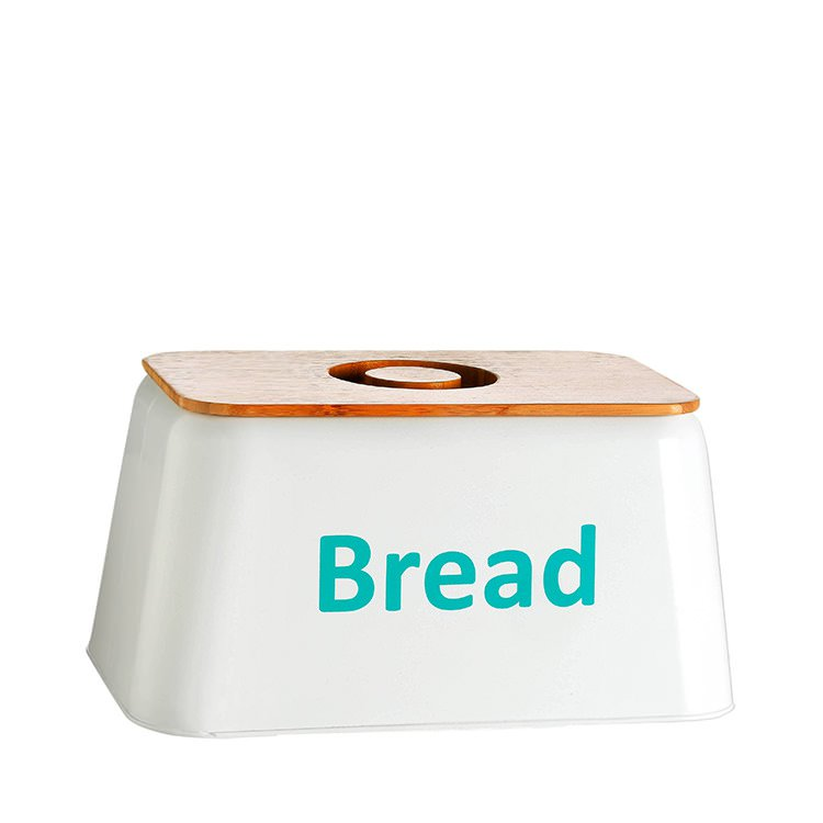 Retro Kitchen Bread Box Teal