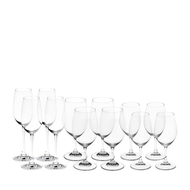 Riedel Ouverture Wine Glass Pay 8 Get  4 Champange Flute Free