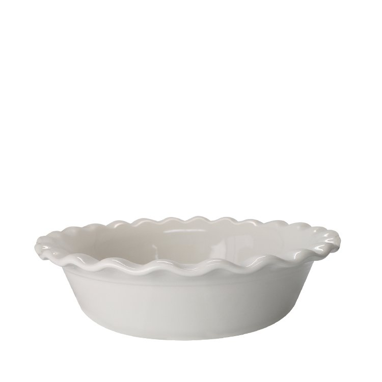 Robert Gordon Australian Made Fluted Pie Dish White