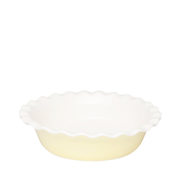 Robert Gordon Australian Made Fluted Pie Dish Lemon