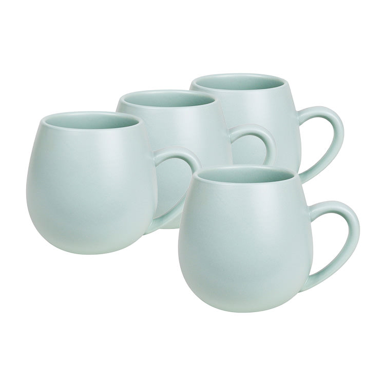 Robert Gordon 4pc Hug Me Mug Set 400ml Eucalyptus