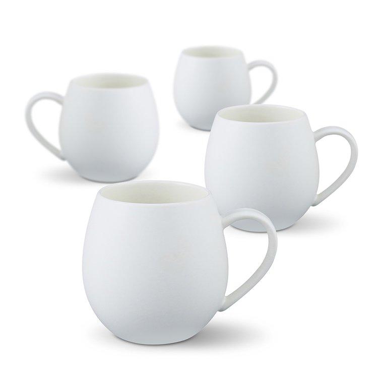Robert Gordon Hug Me Mug 400ml Set of 4 White