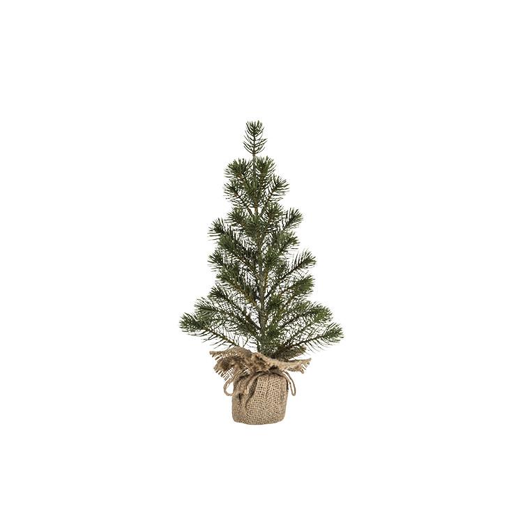 Rogue Christmas Pine Needle Tree 25x45cm Green