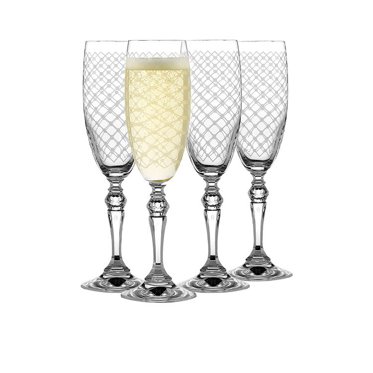 Rona Helmsley Champagne Flute 170ml Set of 4