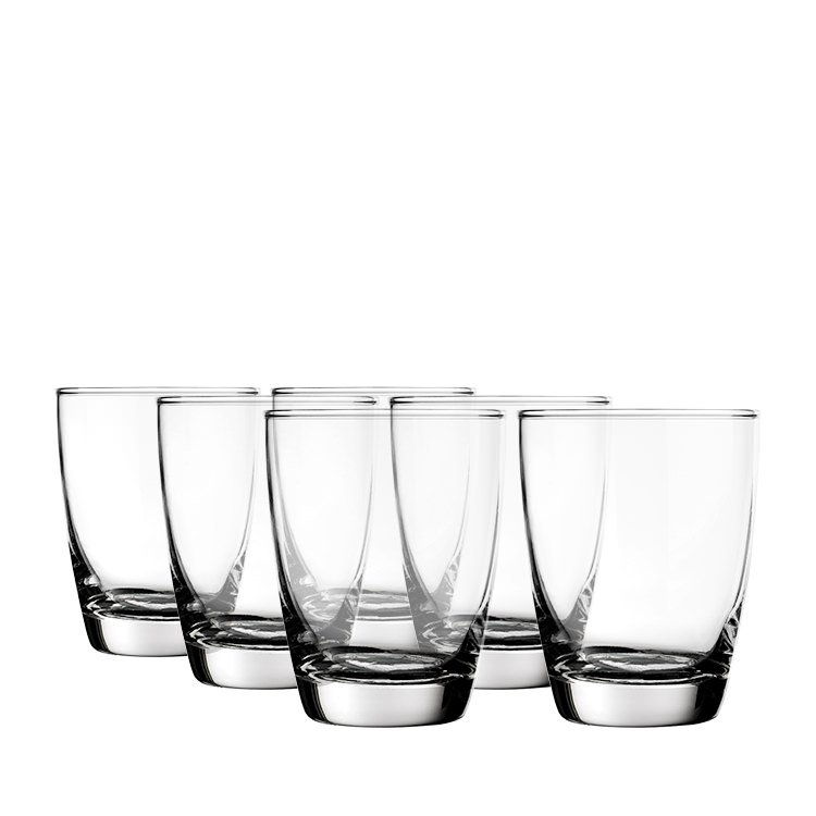 Rona Old Fashioned Milan Glass 365ml 6pc