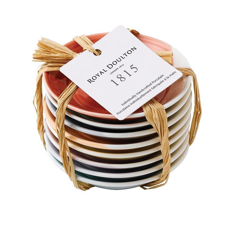 Royal Doulton 1815 Tableware Tapas Plate Set of 8