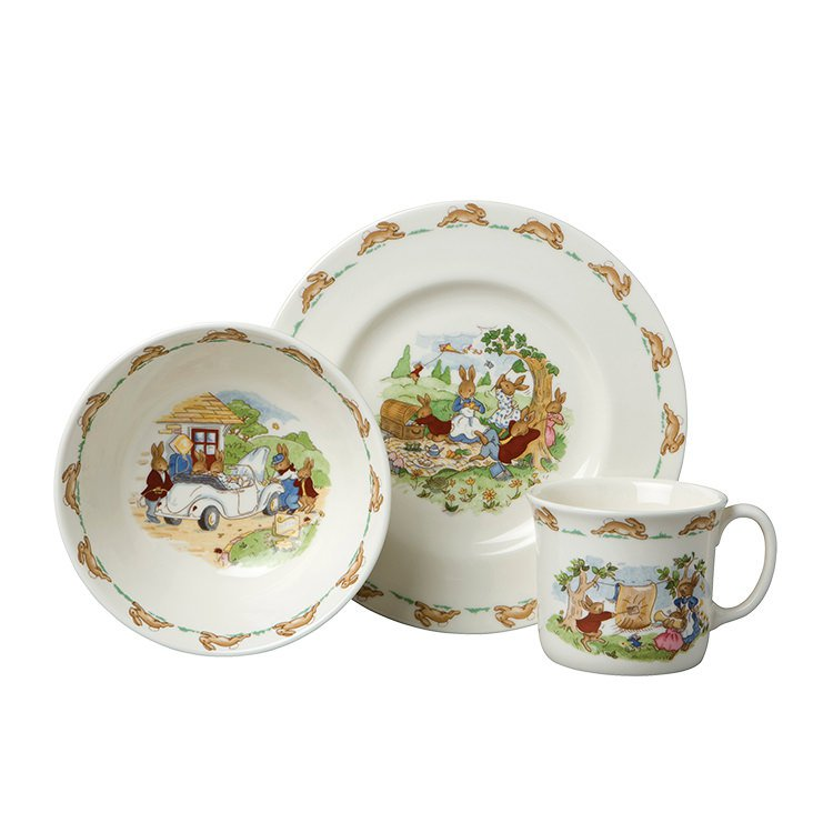 Royal Doulton Bunnykins Child Set 3pc
