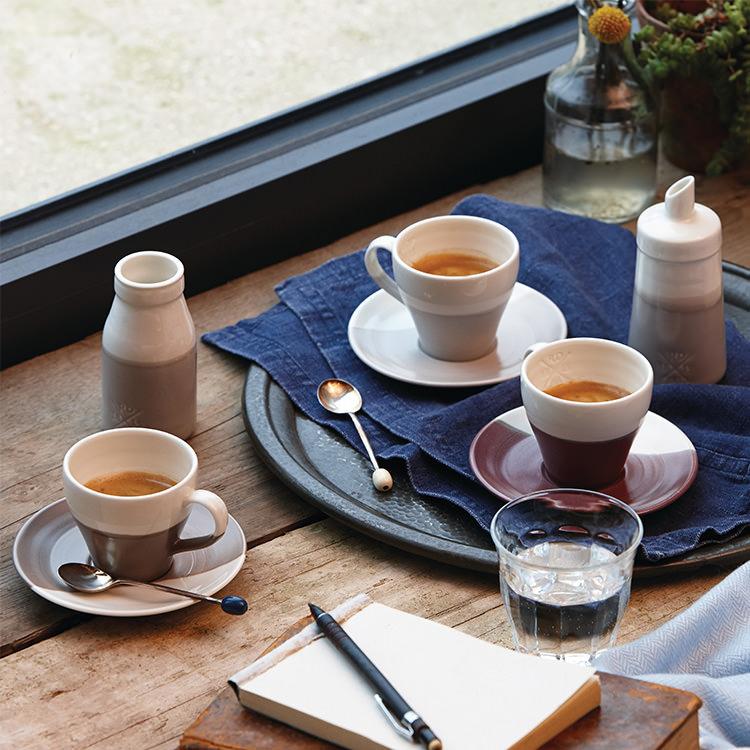 Royal Doulton Coffee Studio Espresso Cup & Saucer 110ml Set of 4