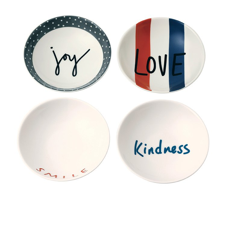 Royal Doulton Ellen DeGeneres Joy Accents Bowl Set of 4