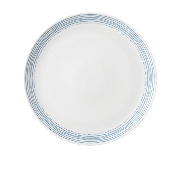Royal Doulton Ellen DeGeneres Tableware Dots Dinner Set 16pc Polar Blue